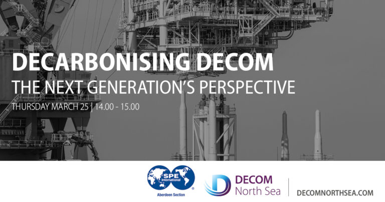 NDC PhD Student presents at Decarbonising Decom – The Next Generation's Perspective