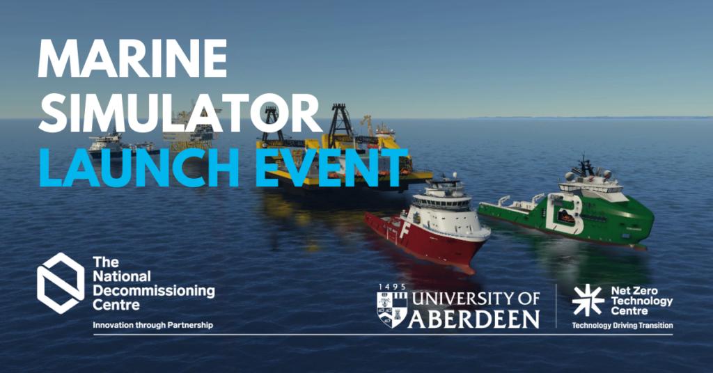 Marine Simulator Launch Event
